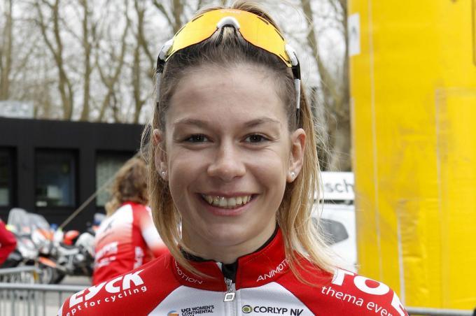 """""""Ik weet dat ik in deze wedstrijd geen topresultaat kan neerzetten"""", aldus Mieke Docx."""