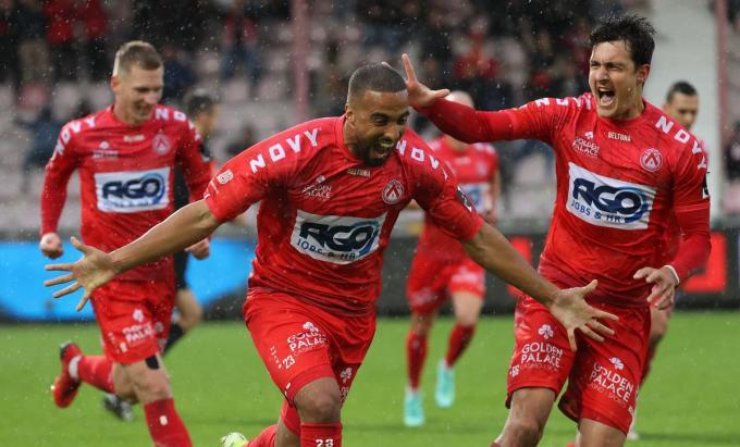 Alioui scoorde 2-1.