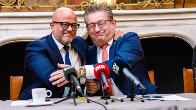 Bart Verhaeghe en Dirk De fauw.