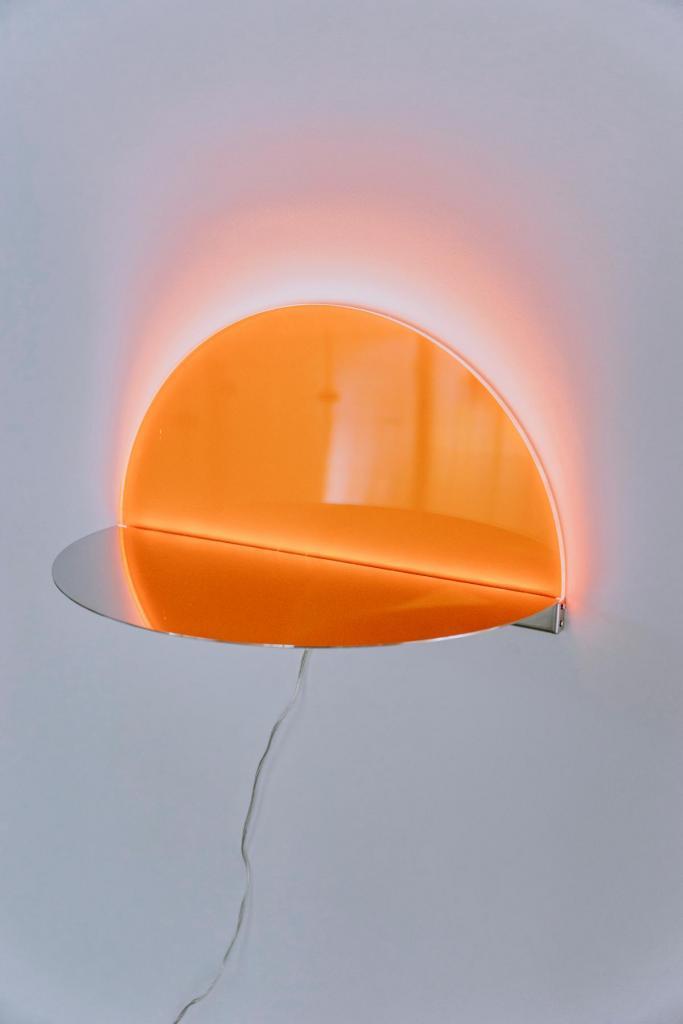 De Sunset lamp uit de collectie Atmosphere. (Foto Daniil Lavrovski)