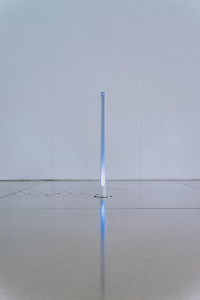 Light Pillar, eveneens uit de Atmosphere Collection: vertrekkend vanuit de interactie tussen licht en omgeving. (Foto Daniil Lavrovski)