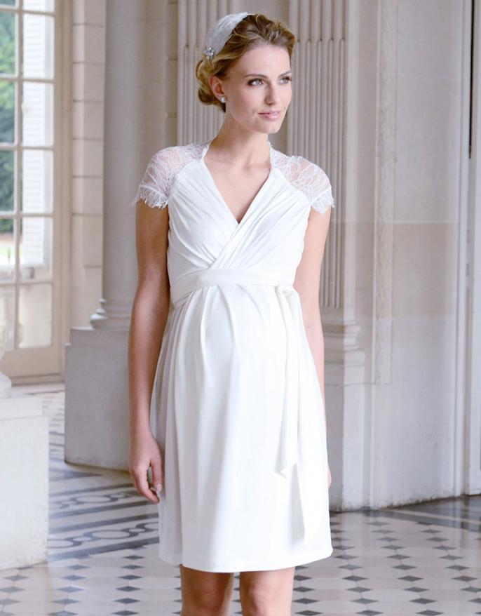 6 Jolies Robes De Mariee Pour Femme Enceinte Femmes D Aujourd Hui Mamans