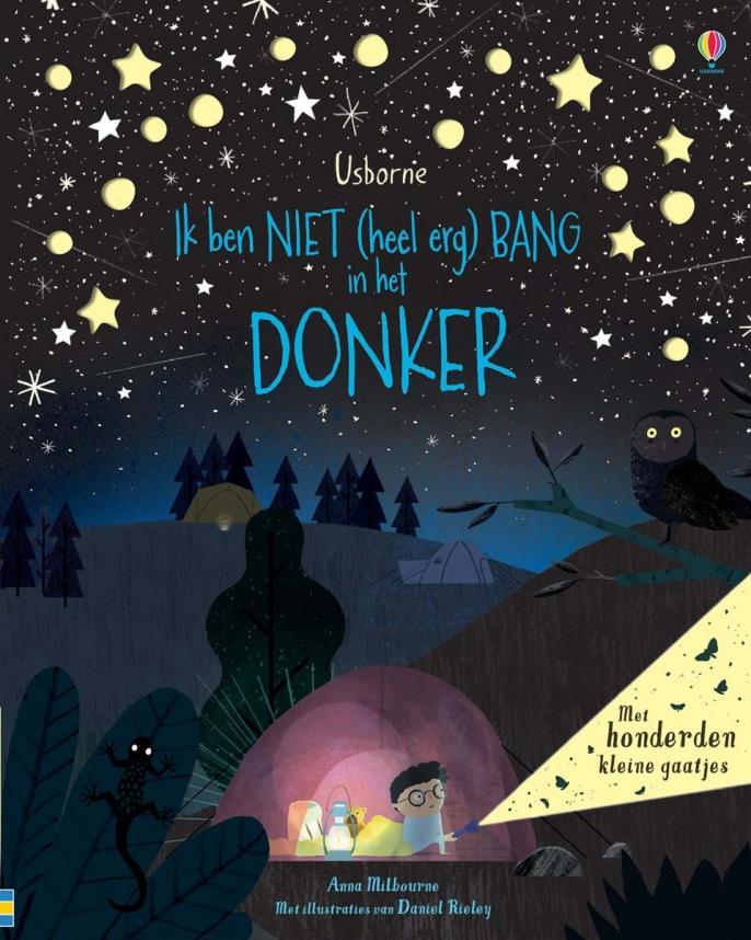 boeken bang in het donker
