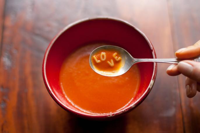 kinderen groenten soep