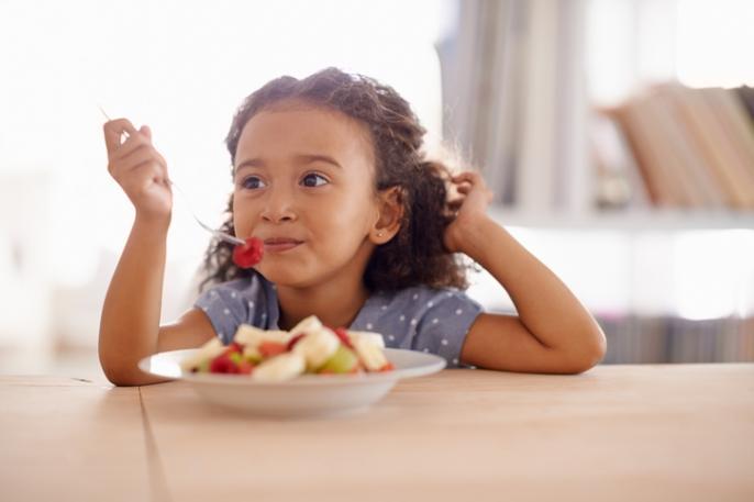 ontbijten kind