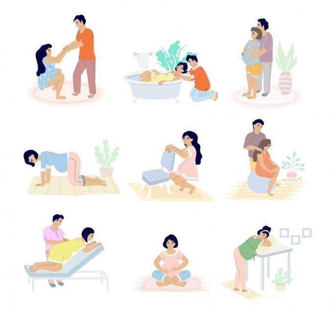 Van badbevalling tot baarkruk : 10x opties om te bevallen - Libelle Mama