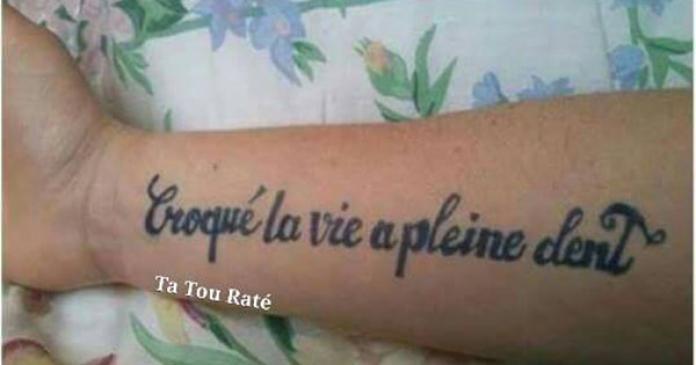 Les 10 Pires Tatouages Rates A Cause D Une Faute D Orthographe
