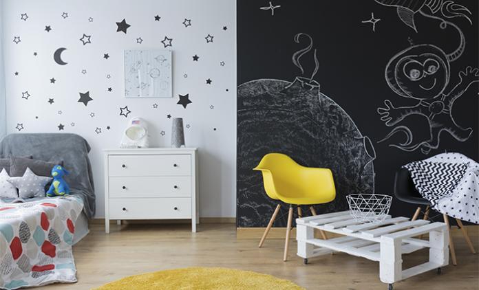 7 x Inspiration pour le mur: chambre d\'enfant - Femmes d\'Aujourd\'hui ...
