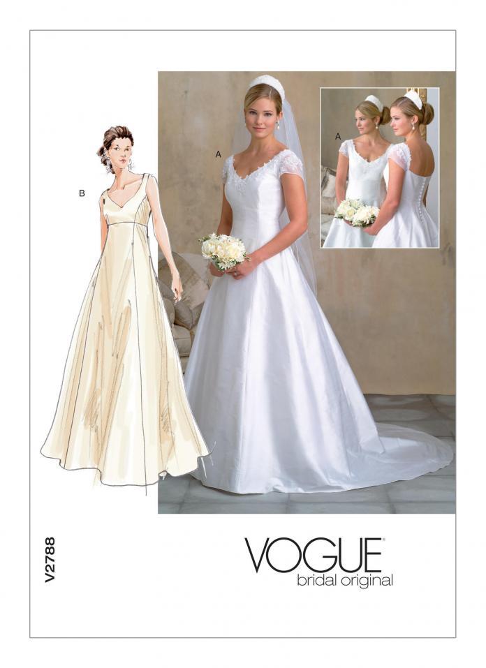 Couture: 12 patrons de robes de mariée -