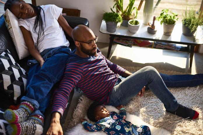 slaaptekort jonge ouders