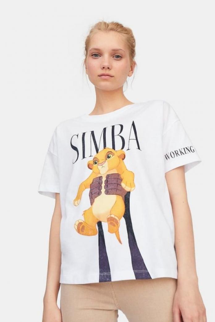 tee shirt simba femme zara