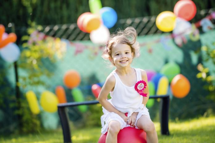tuinfeest voor kinderen