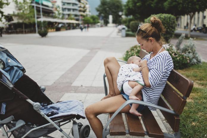 borstvoeding warm weer