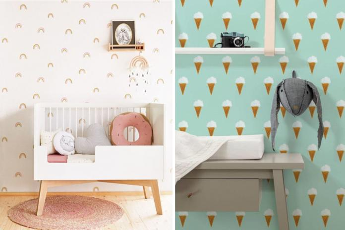 behangpapier babykamer