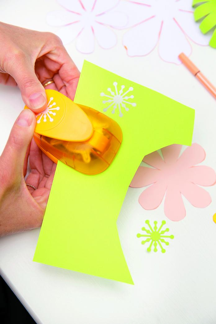 Fleur en papier (anémone)