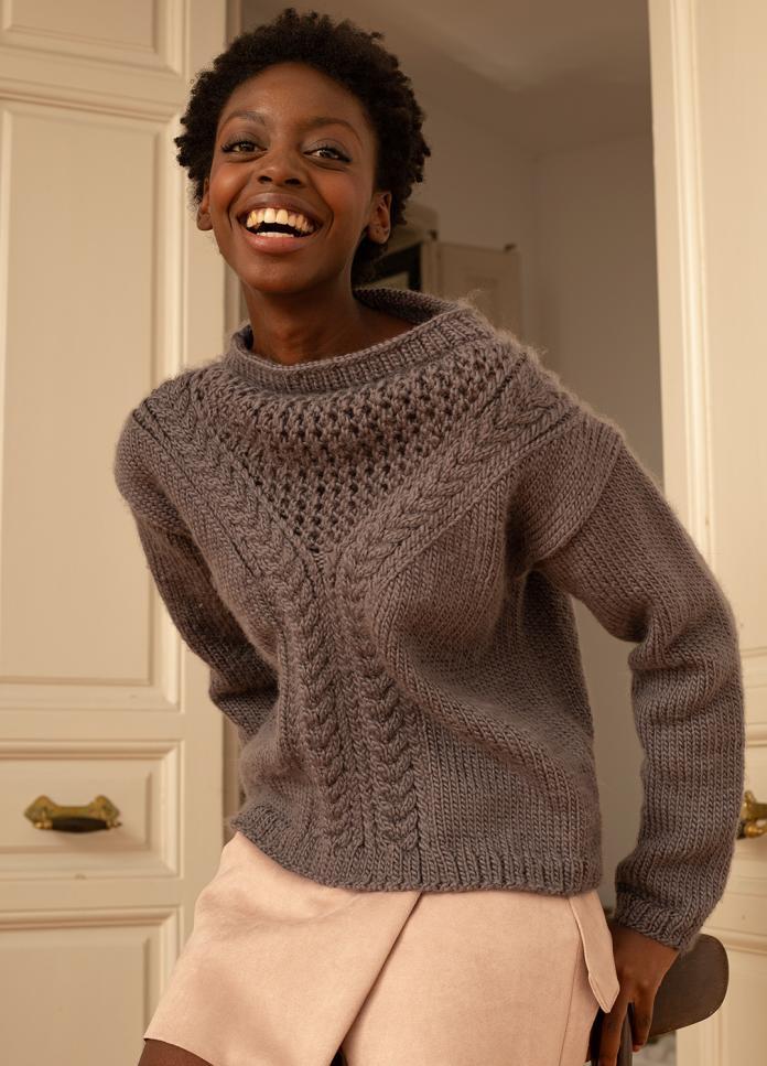 9 Jolis Pulls A Tricoter Soi Meme Femmes D Aujourd Hui