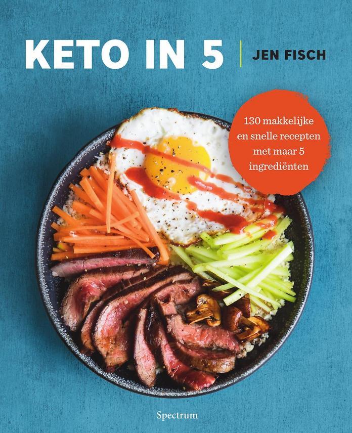 keto-dieet kookboek keto in 5