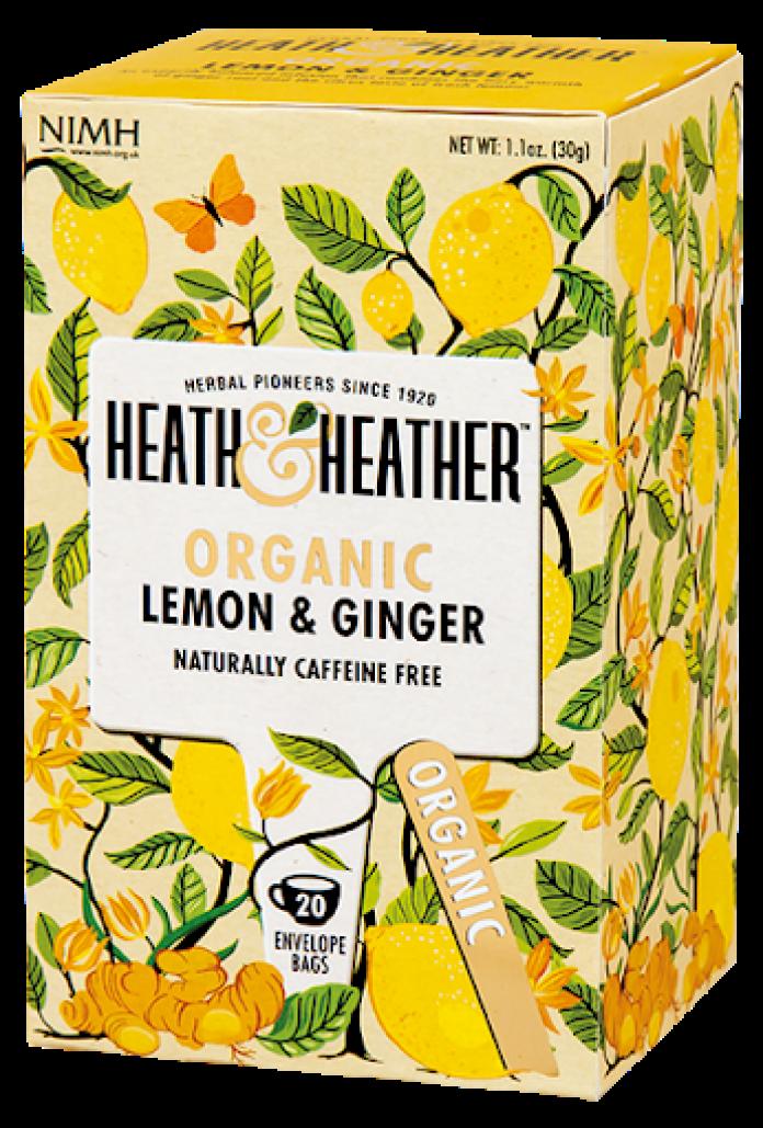 thee herfst citroen gember