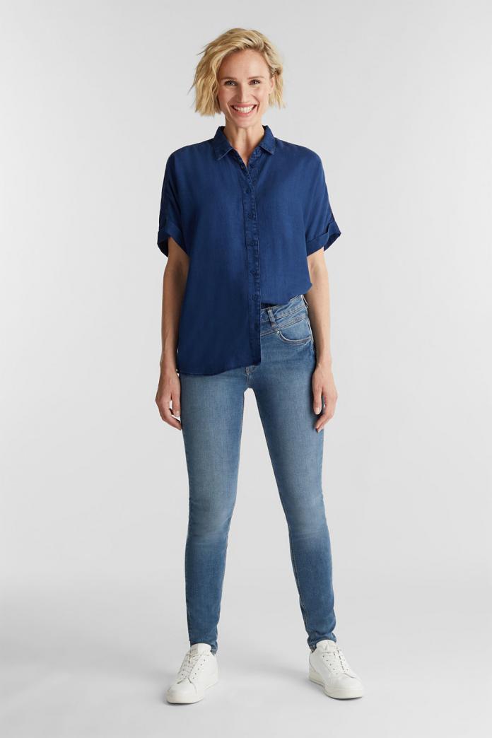 tencel stof blouse