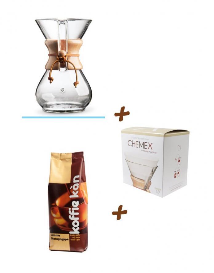 koffie set slow coffee