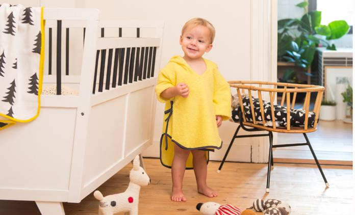 9b1da724f2c DIY: Maak een badcape voor je baby - Libelle Mama