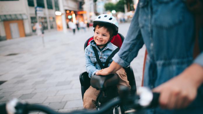 kinderzitje fietskarretje bakfiets