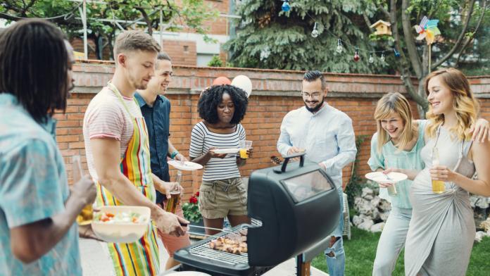 barbecue zwanger