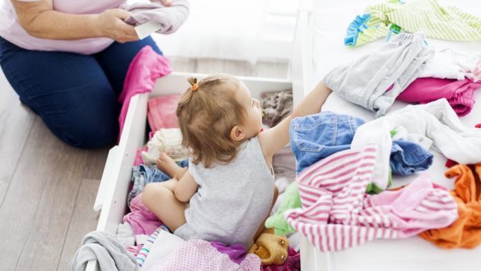 babykleertjes bewaren