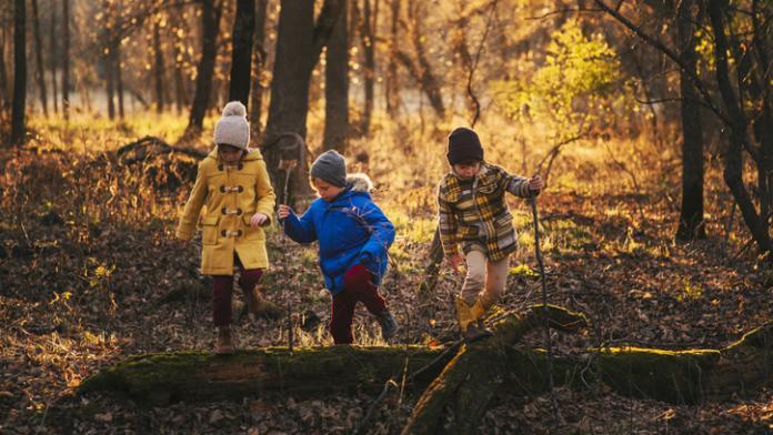 herfstwandeling met kinderen