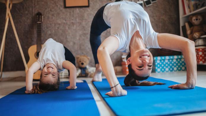 thuis-workouts voor kinderen