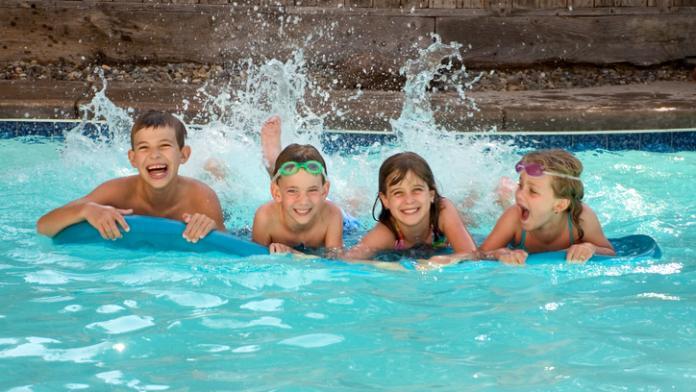 zwembad kinderen