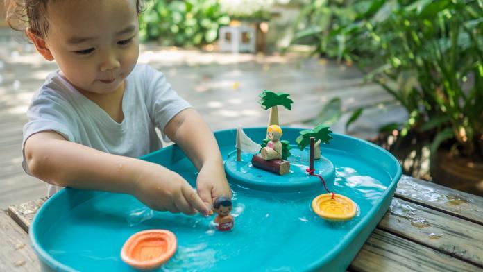 waterspeelgoed baby kind