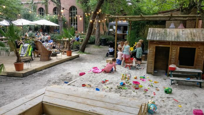 kindvriendelijke zomerbar