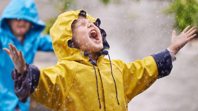 buitenspelen bij slecht weer