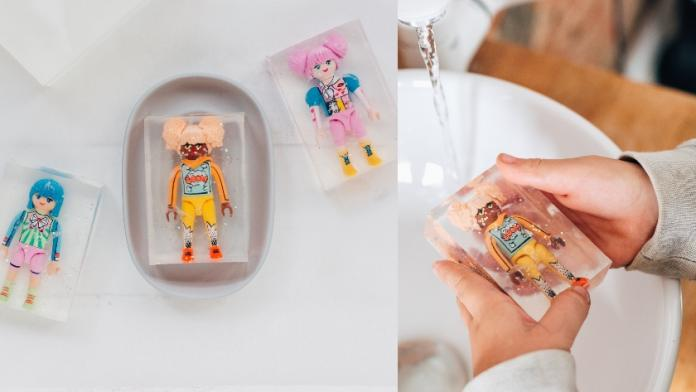 DIY zeep kinderen