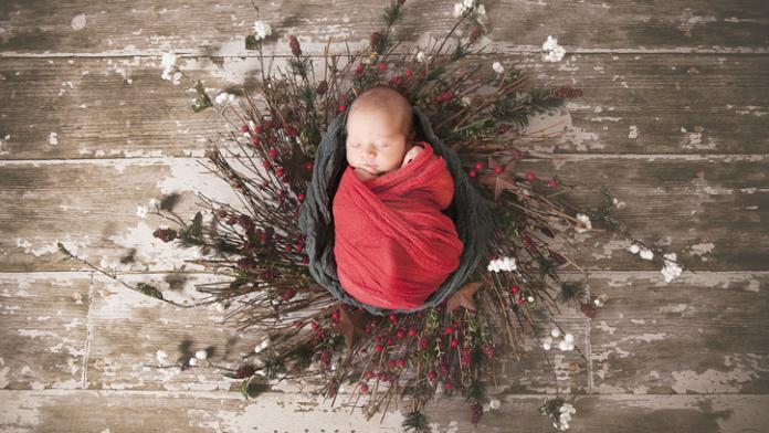 zelf kerstfoto kinderen maken