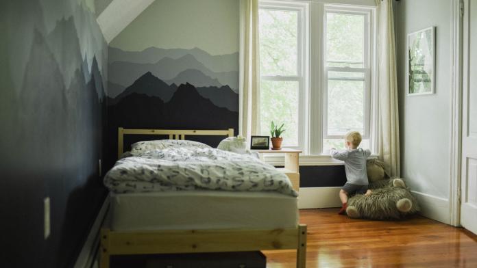 muurdecoratie in de kinderkamer