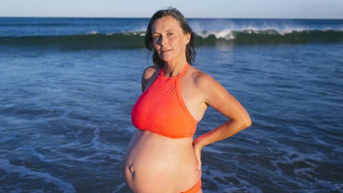 zwanger zomer