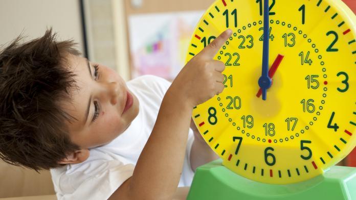 tijd kloklezen horloge
