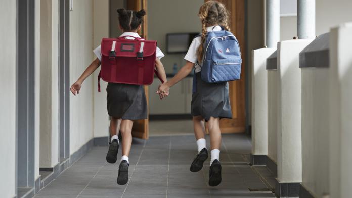 bewegend leren zitten school
