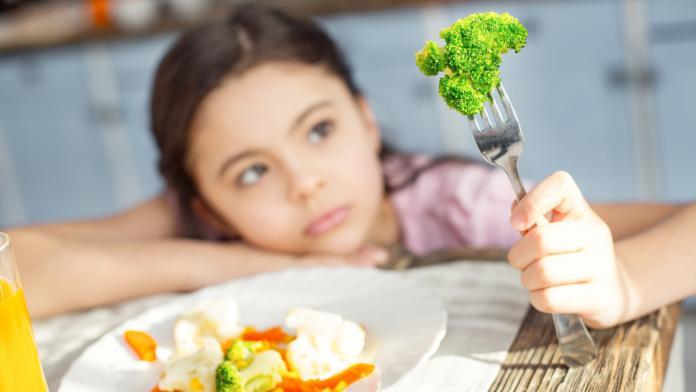 kind proeven etenstijd