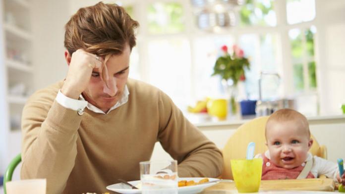 La depresión posparto también afecta a los papás - Mujeres de ...
