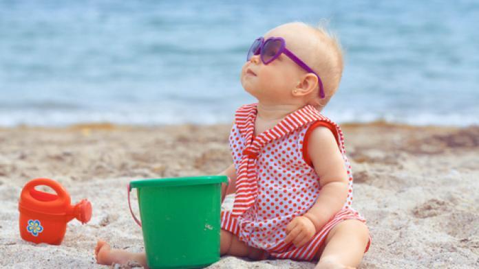 10x beachfun voor baby's