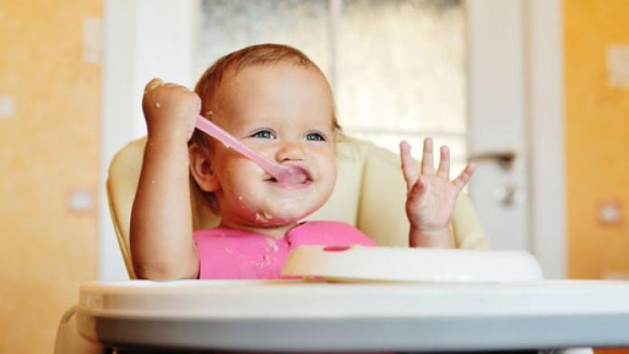 Baby vast voedsel