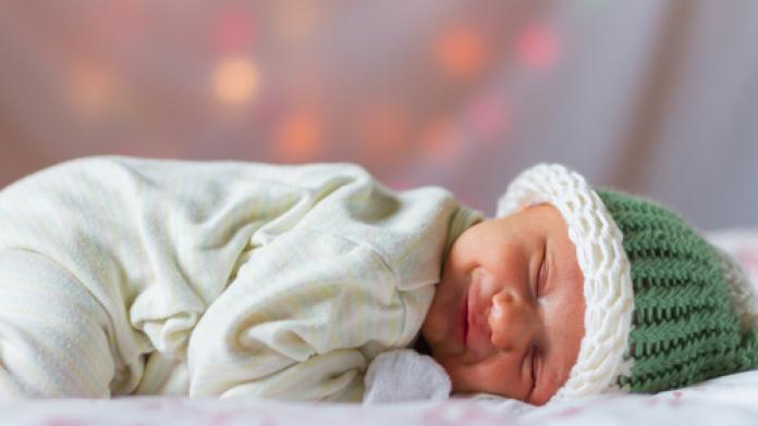 Eerste babyfoto