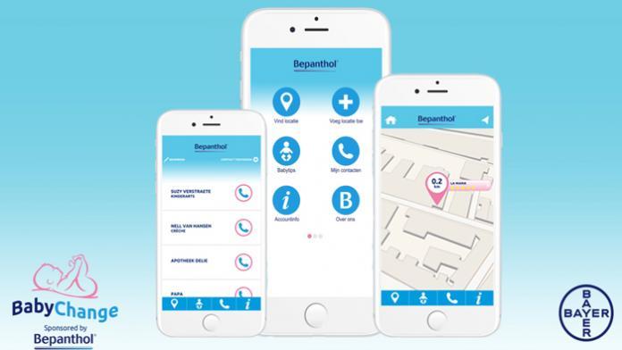 BabyChange app Bepanthol