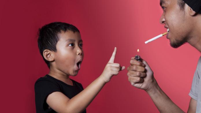 Roken en kinderen