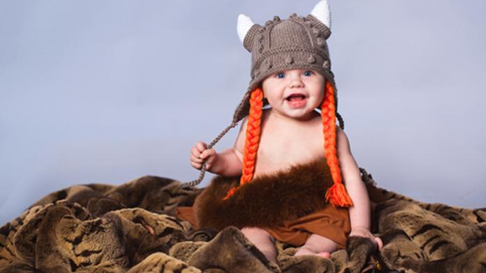 Scandinavische voornamen baby