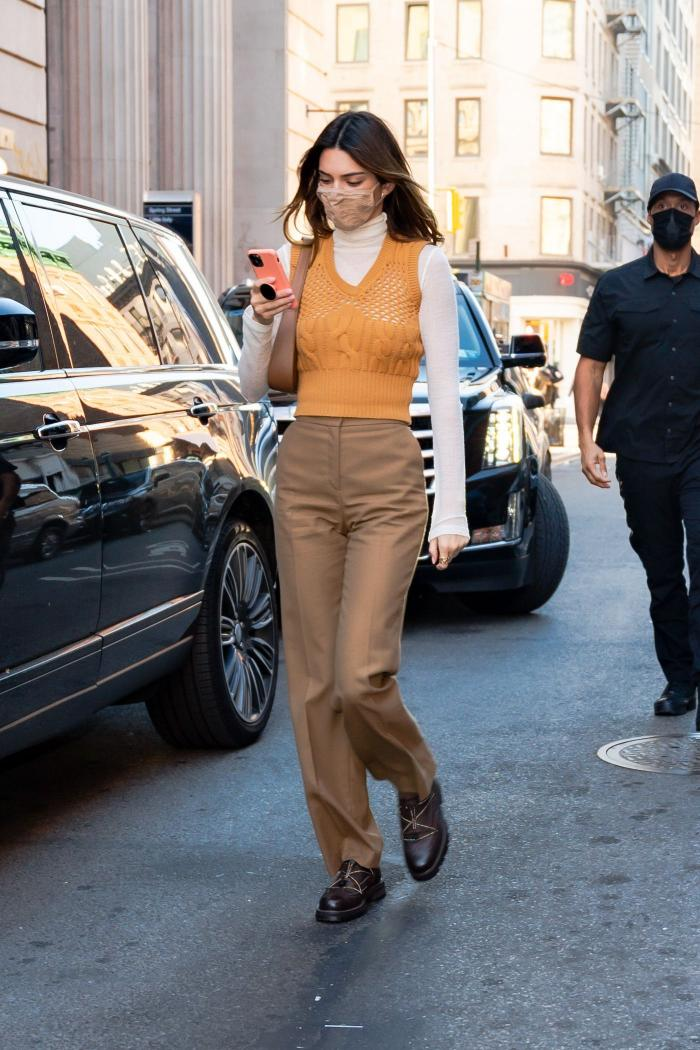 Kendall Jenner streetstyle