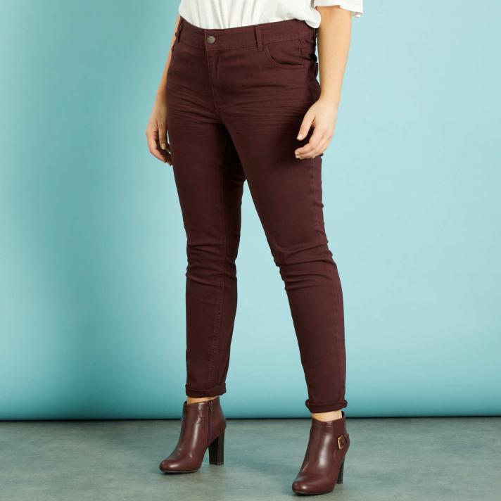 Le pantalon de couleur
